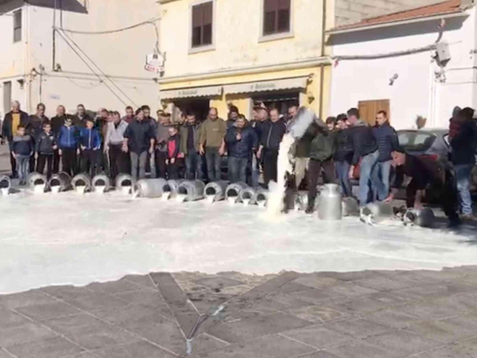 La Protesta dei Pastori Sardi